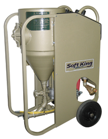SoftKing Portable Soda Blast Machine